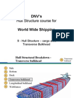 09 - DNVs Hull Str for WW - Hull Str - Cargo Area - Tr Bkhd