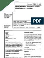 NBR 14141 - Escalas utilizadas em analise sensorial de alimentos e bebidas[1]