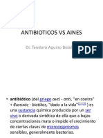 ANTIBIOTICOS VS AINES