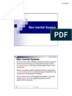 Lecture Non Inertial System