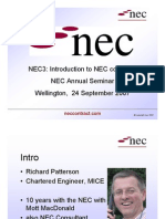 Introducing NEC - R Patterson