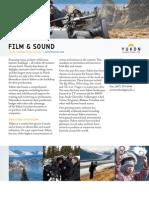 YukonFactsheet_filmandsound