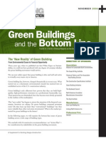 Green Buildings and Bottom Line 2006 White Paper