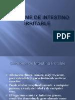 Sindrome de Intestino Irritable