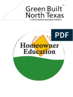 Green Built North Texas Homeowner Education Guide