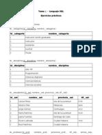 Tema 2.- Lenguaje SQL. Ejercicios Prácticos