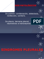 Sx pleuropulmonares MIO
