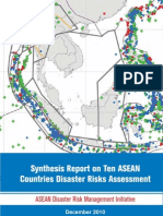 Synthesis Report on Ten ASEAN Countries Disaster Risk Assessment