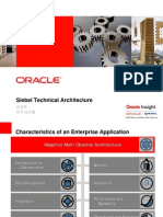 Oracle Siebel Tech Arch