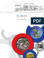 KOBAY Financial Annual Report 2011