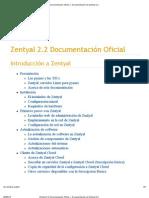 Zentyal 2.2 Documentación Oficial — Documentación de Zentyal 2