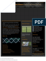 Chain Link Fence Catalog