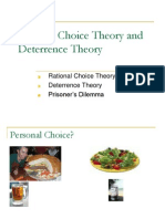Lecture 10 Rational Choice Theory