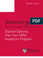 Wharton MBA Resource 11-12