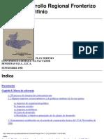 Plan de Desarrollo Trinacional Trifinio