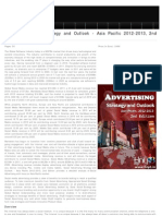 Social Advertising Strategic Outlook 2012-2013 Asia Pacific, 2012