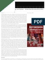 Social Advertising Strategic Outlook 2012-2015 United Arab Emirates, 2012