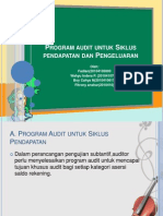 Program Audit Untuk Siklus an Dan Pengeluaran
