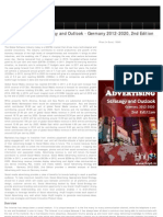 Social Advertising Strategic Outlook 2012-2020 Germany, 2012