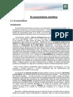 Lectura 2- El conocimiento científico. Ciencia y ciencia del derecho