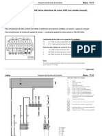 Esquema de Circuitos de Corriente - Motor VW 1.9 TDI AXR (Con Cambio Manual)