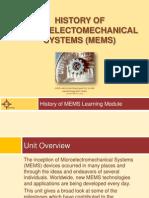 History of MEMS Presentation[1]