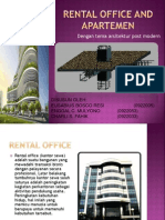 Rental Office and Apartemen