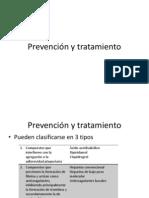 Prevencion y TX. TEP