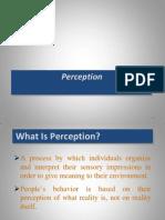 5. Perception
