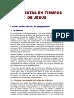 LAS FIESTAS EN TIEMPOS DE JESÚS