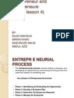 entrepreneureship