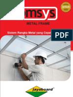 Sistem Rangka Plafond Bmsys