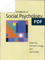 the SAGE Handbook of Social Psychology Concise Student Edition Sage Social Psychology Program