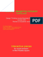 Review on Design Thinking course outcomes