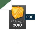 CFdesign 2010-Users Guide