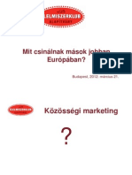 Sárközy Ildikó - Mit csinálnak mások jobban Európában?