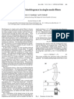 Ulrich Et Al_Bending-Induced Birefringence in Single-mode Fibers