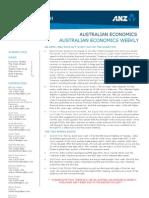Australian Economics Weekly 120330