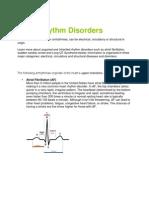 Heart Rhythm Disorders