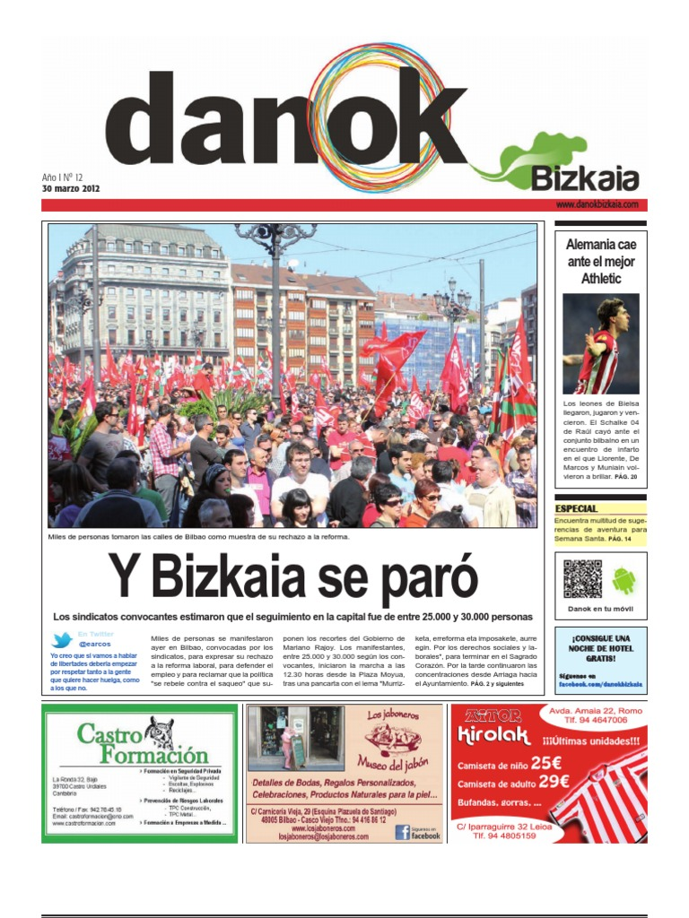 Nº 12 30 De Marzo De 2012 Danok Bizkaia