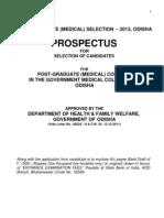 PG_Medical 2012 Form & Prospectus