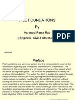 Pile Foundations PPt