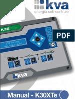 K30XTe Manual