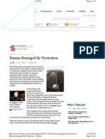Publication Forbes Russia Protest