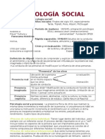 Piscologia Social Tema 1