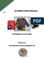 Patrones Canguro Jersey Con Capucha Pampa