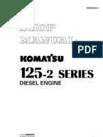 6D125-2 Engine (PC450-6) Shop Manual (SEBM006410)