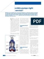 Are Submersible Pumps Right for Dry Pit Service
