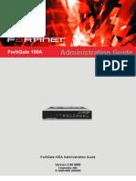 Fortigate 100A Administration Guide