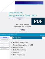 Intro Energy Balance Table